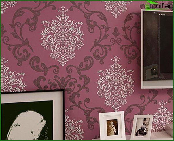 Varieties of non-woven wallpaper - 2