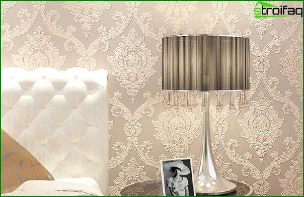 Varieties of non-woven wallpaper - 3