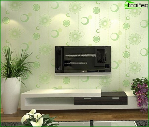 Varieties of non-woven wallpaper - 4