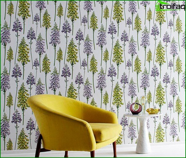 Varieties of non-woven wallpaper - 6