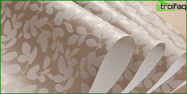 Beautiful non-woven wallpaper - 1