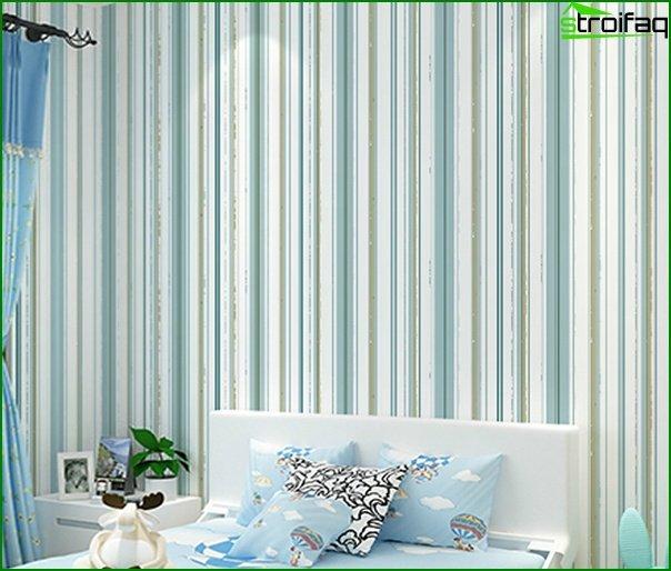 Flizeline wallpaper in the bedroom - 4