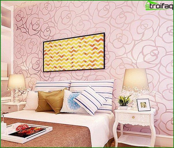 Bedroom (non-woven wallpaper) - 3