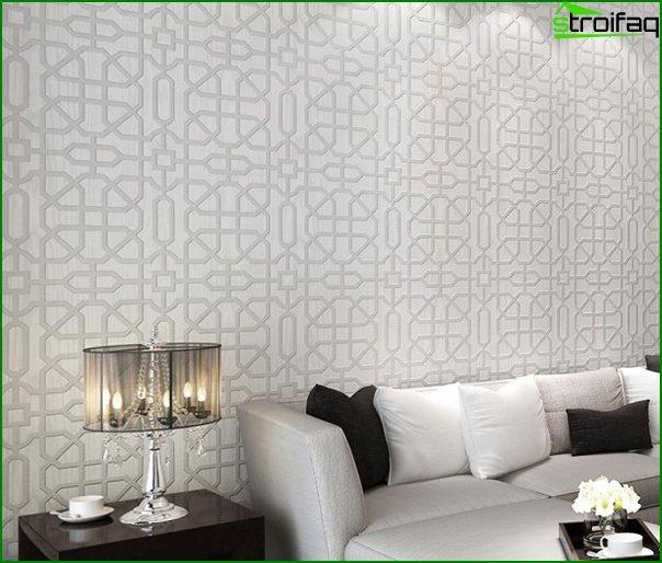 Flizeline wallpaper for the living room - 2