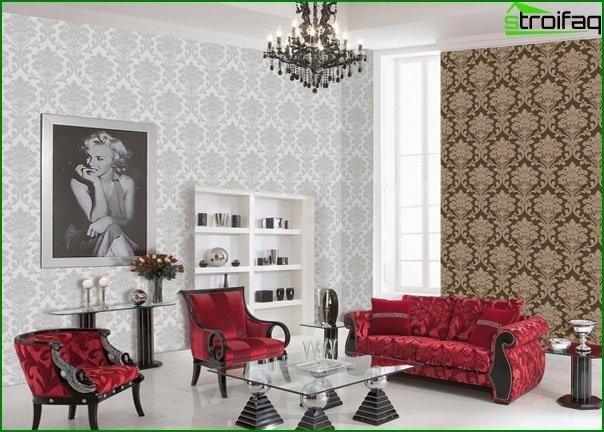 Viburnum wallpaper for the living room - 3