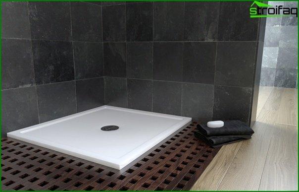 Acrylic tray - 4