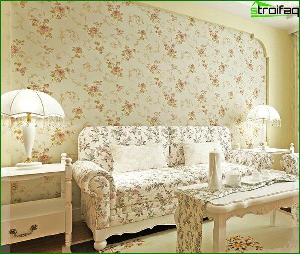 Flizeline wallpaper for the living room - 6