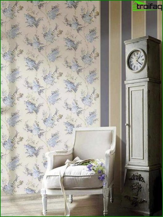 Flizeline wallpaper for the living room - 7