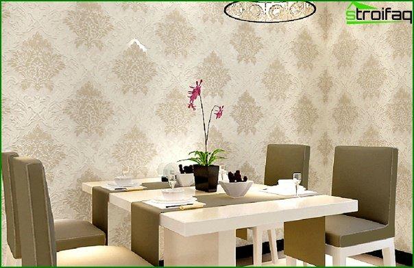 Flizeline wallpaper in the kitchen - 1