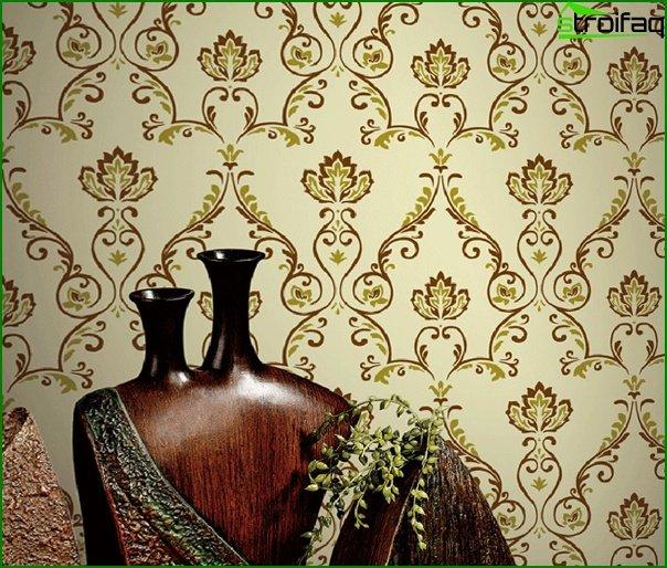 Flizeline wallpaper in the kitchen - 2