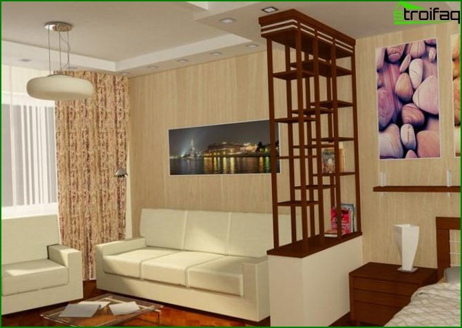 Studio apartment design 9