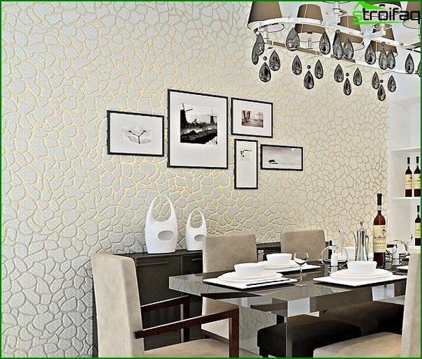 Flizeline wallpaper in the kitchen - 6