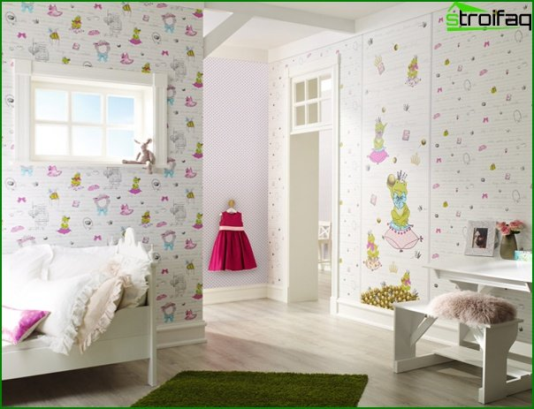 Non-woven wallpaper for children - 1