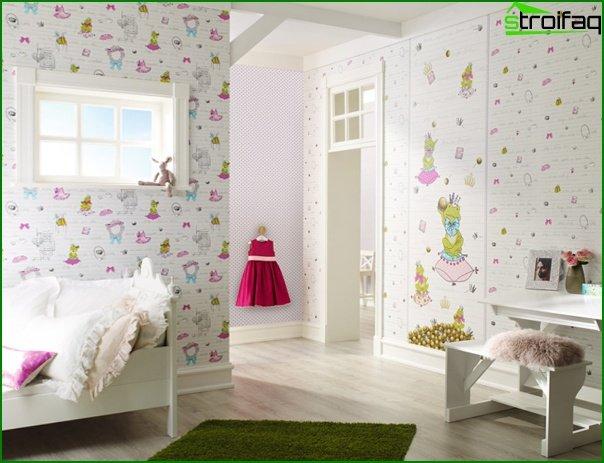 Non-woven wallpaper for children - 1