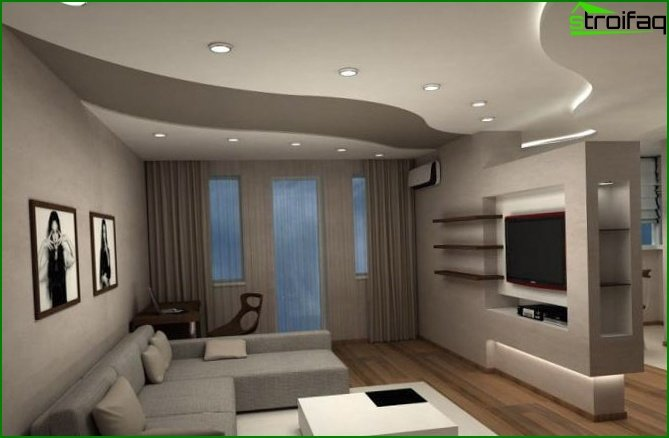 Studio apartment design 11
