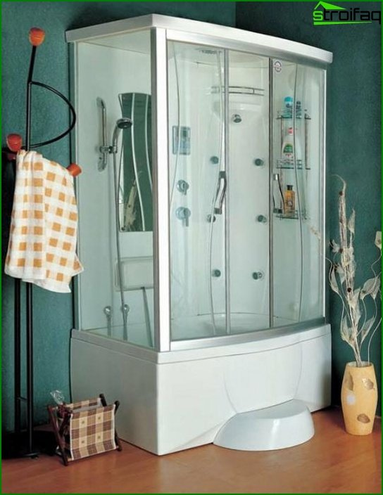 Shower cabin with hydromassage - 2