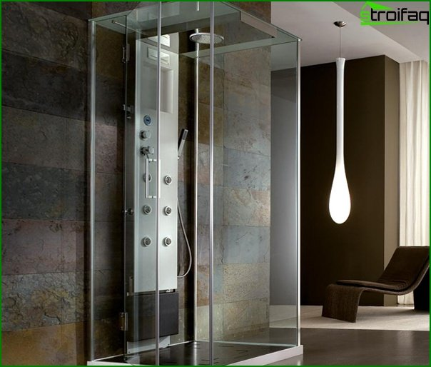 Shower cubicle with hydromassage - 5