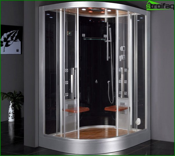 Shower cubicle with steam generator - 4