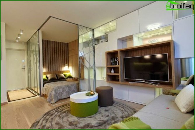 Studio apartment design 16