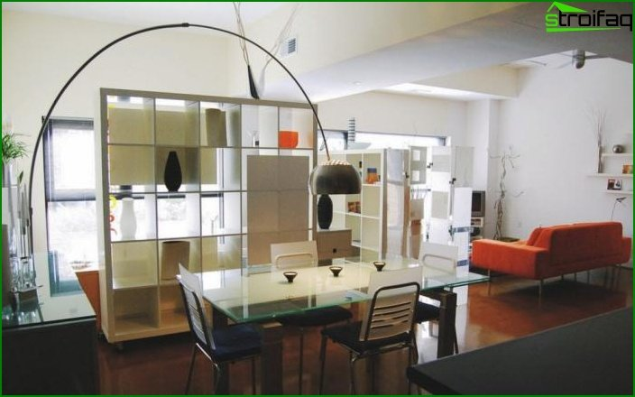 Design of one-room apartment 3