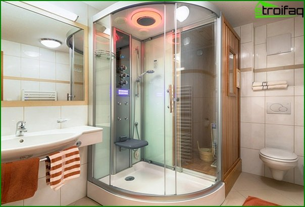 Built-in sauna - 3