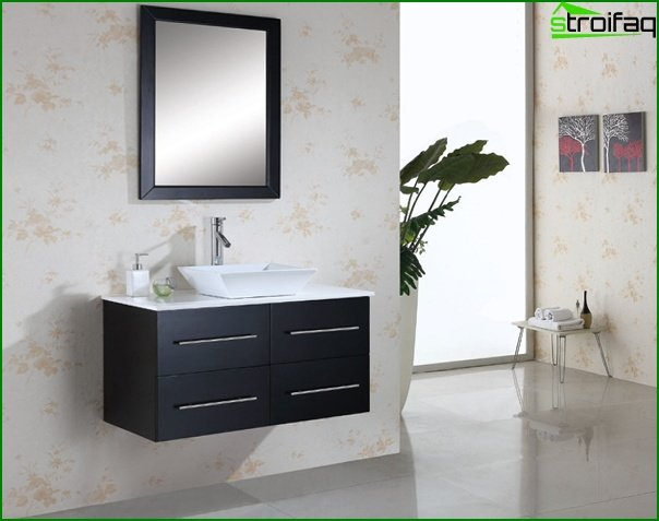 Bathroom furniture from MDF / chipboard - 3