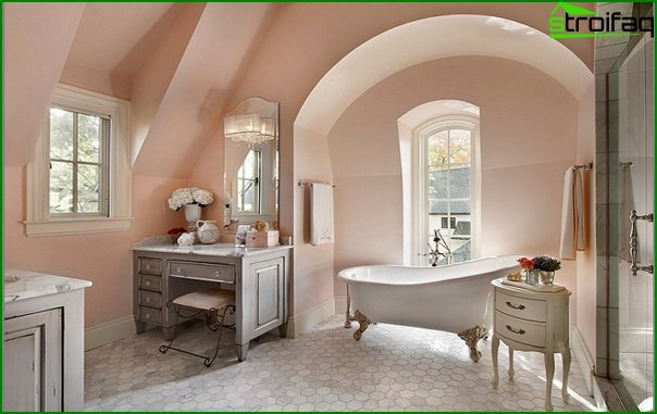 Bathroom furniture in classic style - 2