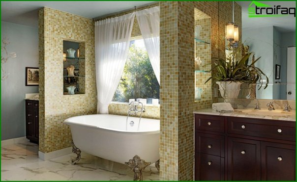 Bathroom furniture in classic style - 4
