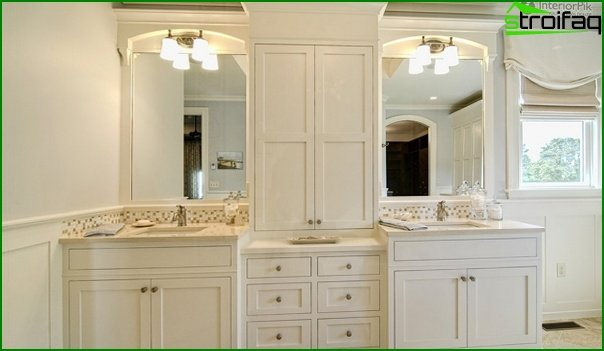 Bathroom furniture in classic style - 5
