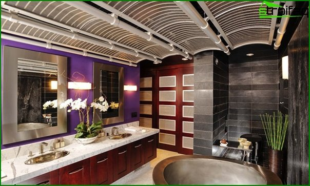 Bathroom furniture in fusion style - 5