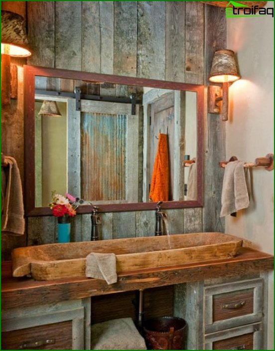 Country bathroom furniture - 1