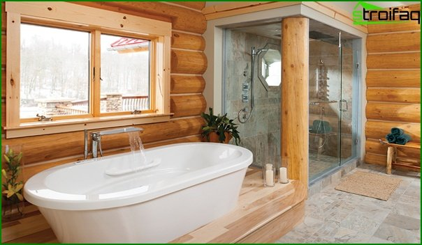 Bathroom furniture in country style - 1