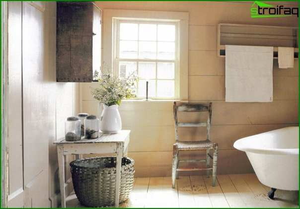 Bathroom furniture in country style - 2