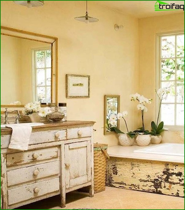 Bathroom furniture in country style - 3