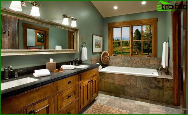 Bathroom furniture in country style - 4