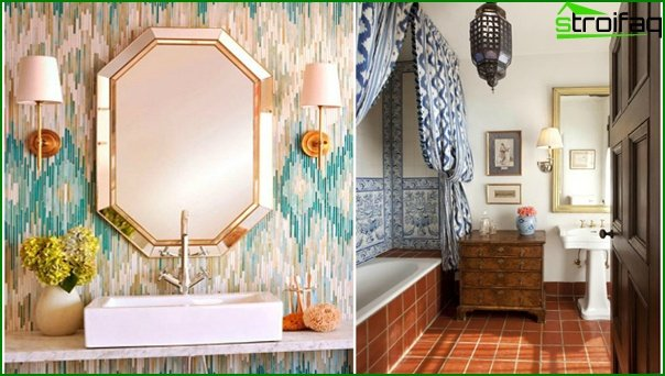 Ethnic bathroom furniture - 2