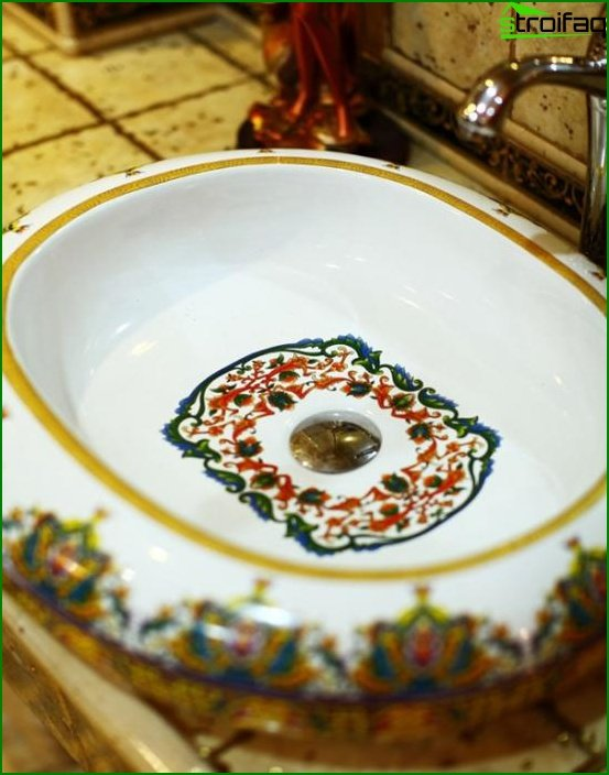 Bathroom furniture in Ethnic style - 2