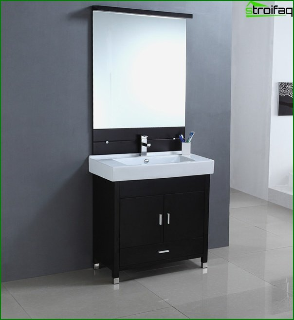 Sink with curbstone - 4