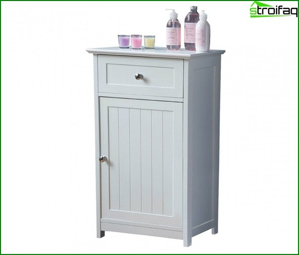 Cupboards for bathroom - 2