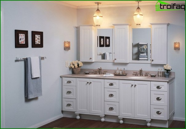 Bathroom furniture (curbstone) -2