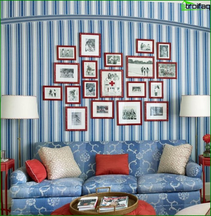 Shade of Air Blue in the Living Room Design 4