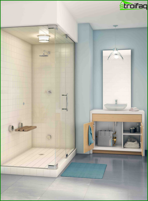 Shower cubicle with steam generator - 3
