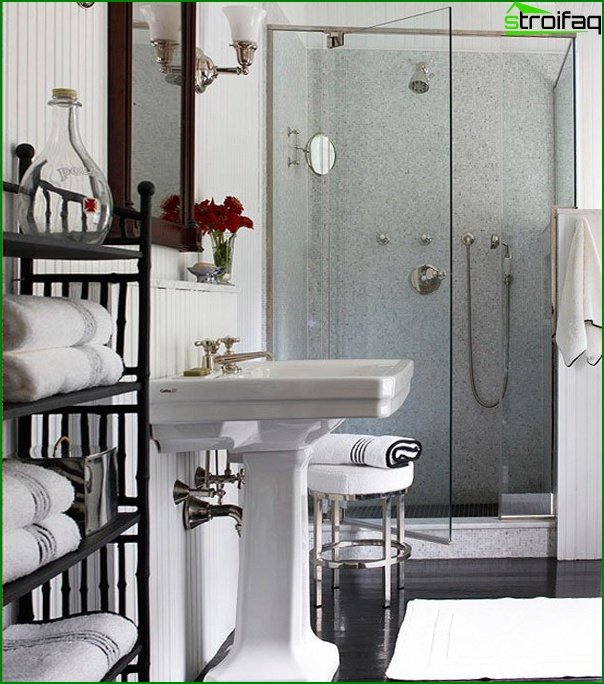 Bathroom furniture (shower cubicle) - 1