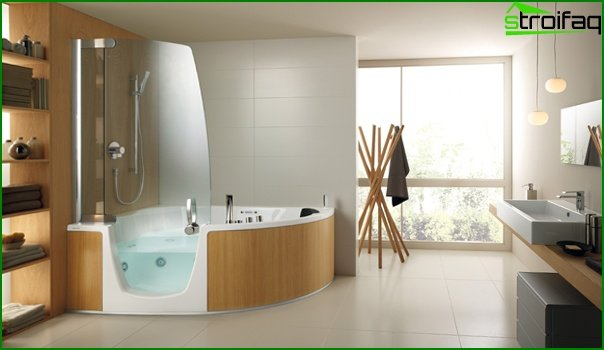 Bathroom furniture (shower cubicle) - 2