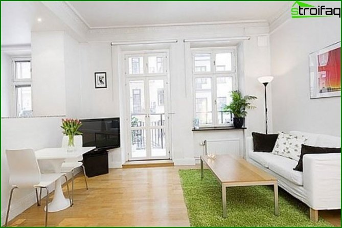Studio apartment - interior 9