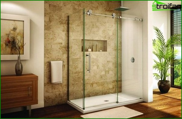 Bathroom furniture (shower cubicle) - 3