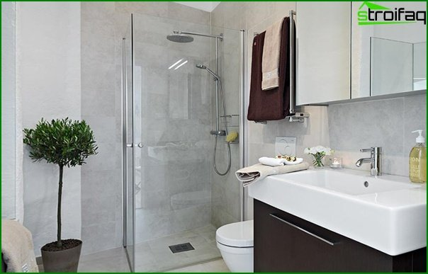 Bathroom furniture (shower cubicle) - 5