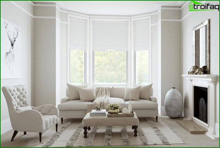 Living room in classical style 6