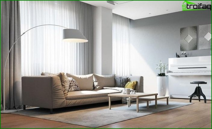 Living room in a modern style 4