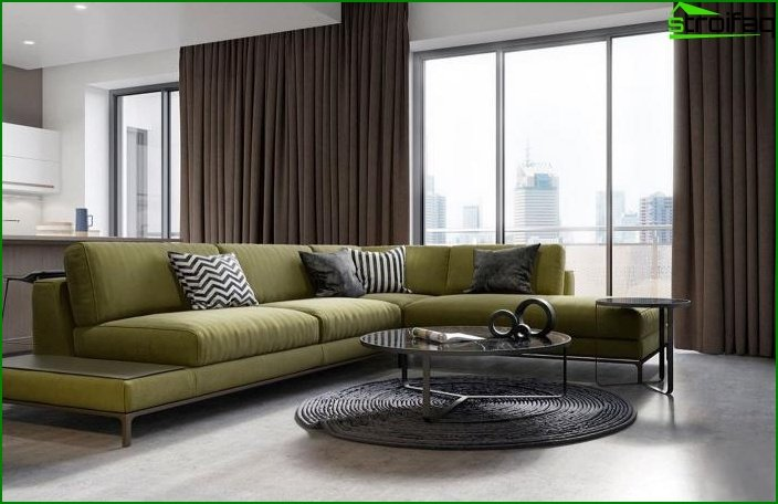 Living room in a modern style 5